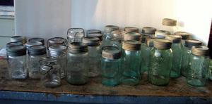 50 Antique and Vintage Preserve Jars