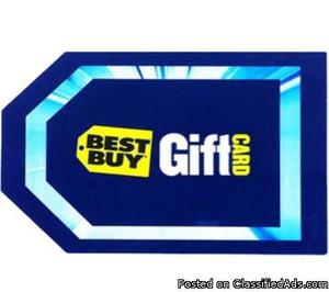 BEST BUY GIFT CARDS FOR SALE