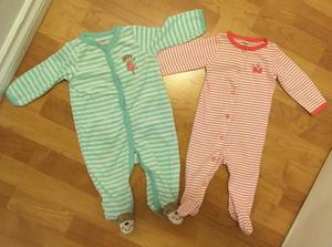 Girls 6 month sleepers super cute