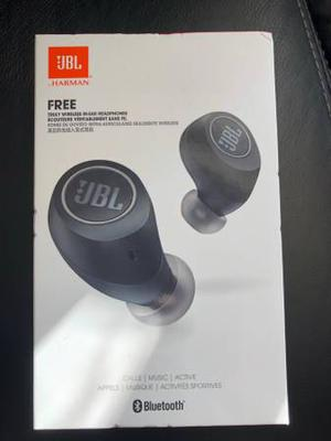 JBL Free wireless headphones, brand new and sealed