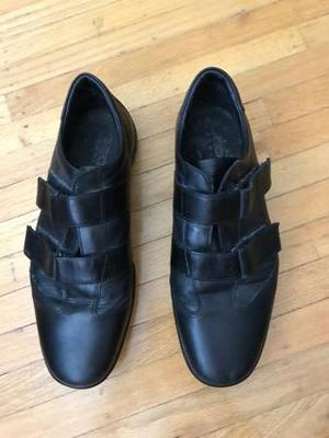 Men's Black Geox Respira Shoes - Size 42 or 9