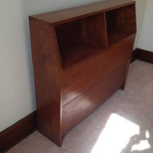 Solid Wood - Handcrafted Headboard for Single Bed