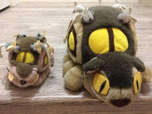 Stuffed Toy -Totoro Cat Bus Plush Toy Collection