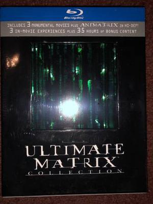 The Matrix Collection Blu-Ray Brand new and sealed