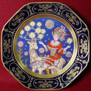 Wallplate by Ole Winther collector plate