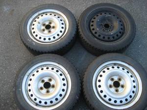 r16 snow tires with honda/acura wheels