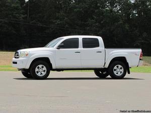 Toyota Tacoma White Truck
