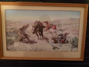 """Vintage Framed Print """"The Cinch Ring """" by Charles M"""