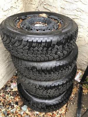 Goodyear Winter tires w/ rims