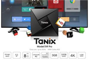 Android TV Box-Tanix TX9 Pro-Oct Core S912 - Android