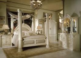 Designer Cal-King Bedroom Set - Amini Monte Carlo I - Silver