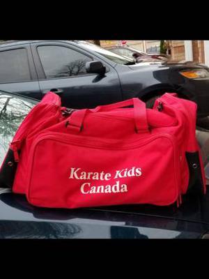 Karate kids Canada tote bag.