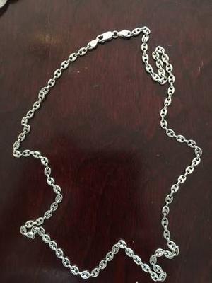 Sterling Silver Set (25 inch Necklace + 7.5 inch Bracelet)