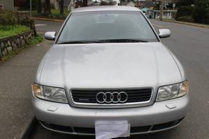 Comfortable Audi sedan: turbo & AWD (all wheel drive)