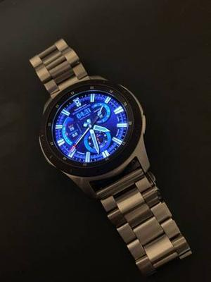 Samsung galaxy smart watch with stainless steel band