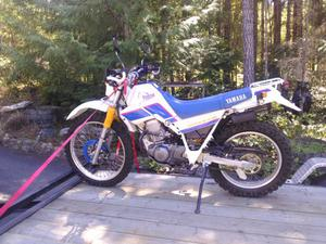 "Yamaha XT 225 SEROW ""MINT collector """