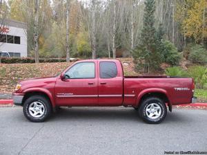 Toyota Tundra Red