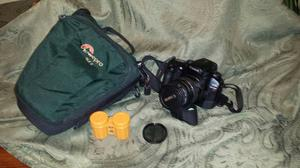 Cannon EOS Elan7 35 mm camera with Accessories