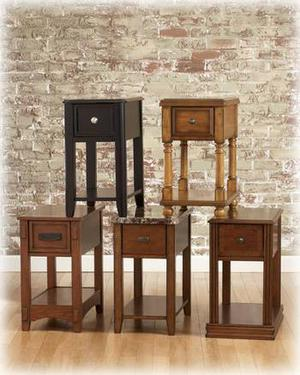 New Chairside End Tables *5 Styles*