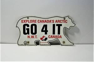 Northwest Territories / Team Canada Logo Souvenir License