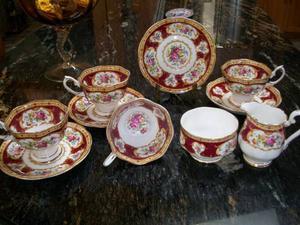 Vintage Lady Hamilton Tea set