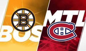 2 MONTREAL CANADIENS vs BOSTON BRUINS TICKETS December 17th