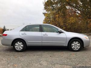 Honda Accord Silver Sedan