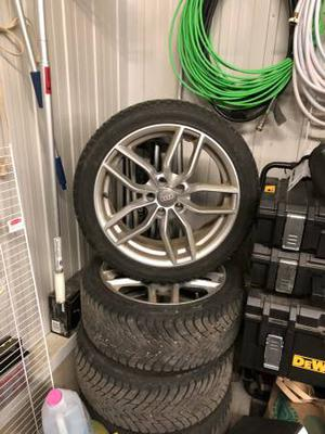Pneus d'hiver Audi S4