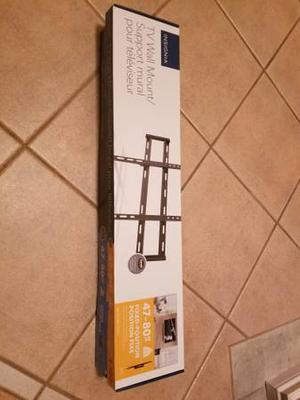 """Insignia Fixed TV Wall Mount for """" - Brand New (in"""