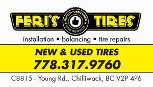NEW AND USED TIRES
