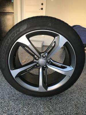 """Pirelli winter tires with Audi 20"""" rims"""