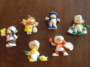 Rainbow Brite Friends Figurines