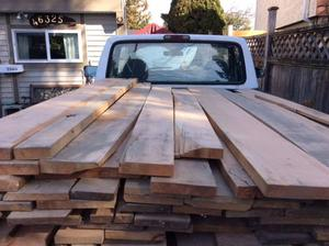 Select and Number 1 CLEAR Maple 1.5 inch KILN DRIED PLANED