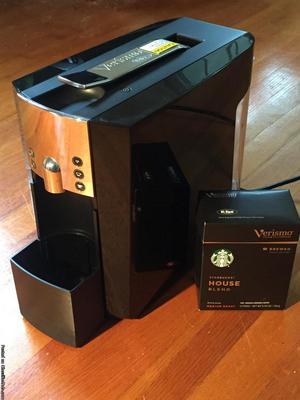 NEW-Starbucks Verismo Coffee Machine
