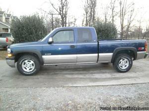 Chevrolet Silverado  Blue