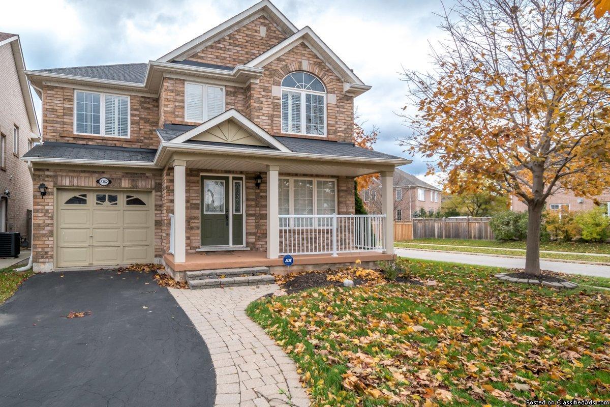 3+1 Bedroom Oakville Home FOR RENT (Dundas/Third Line)