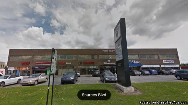 Boul. des Sources-Retail space for rent