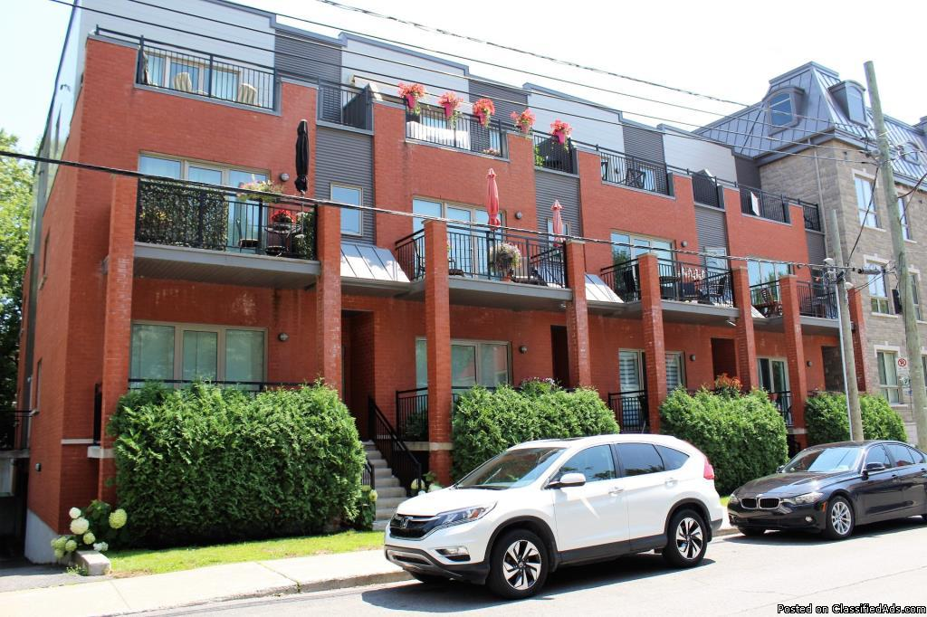 Bright and sunny first floor 2 bedrooms unit in Montreal