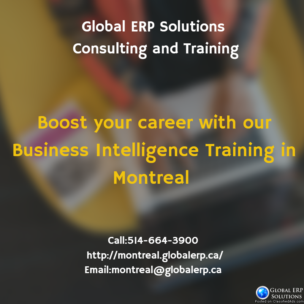 Business Intelligence (BI) Training in Montreal