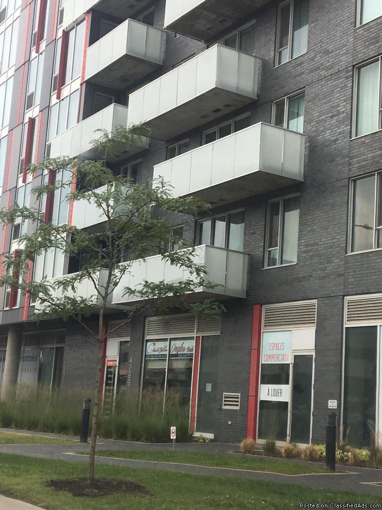 Commercial condo 686 to 911 sqft on Jean-Talon West