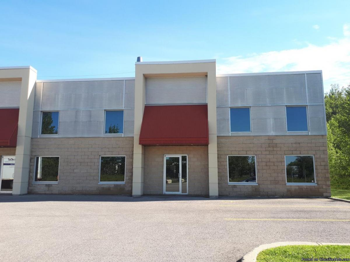 Commercial / industrial space  to  sqft in