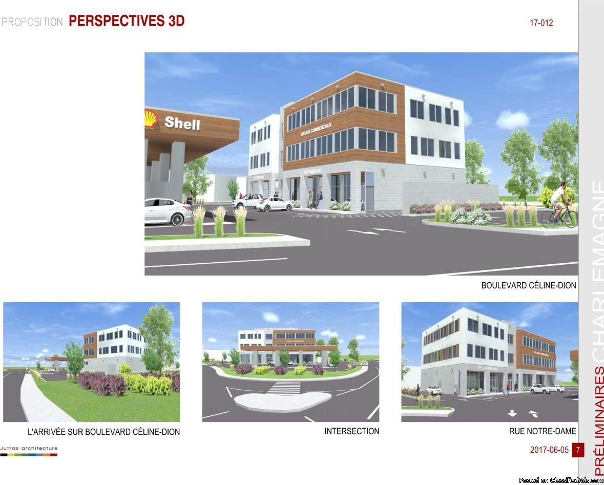 Commercial project/Office Charlemagne AAA LOCATION