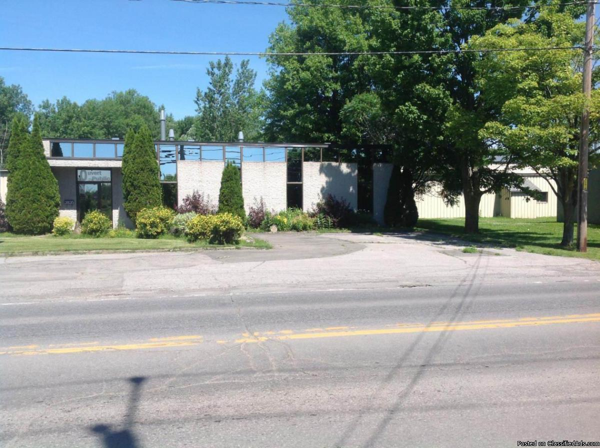 Commericial / light industrial building for sale or rent