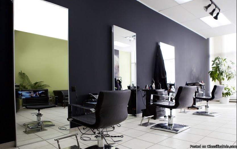Established hairdressing and beauty salon in Montreal.