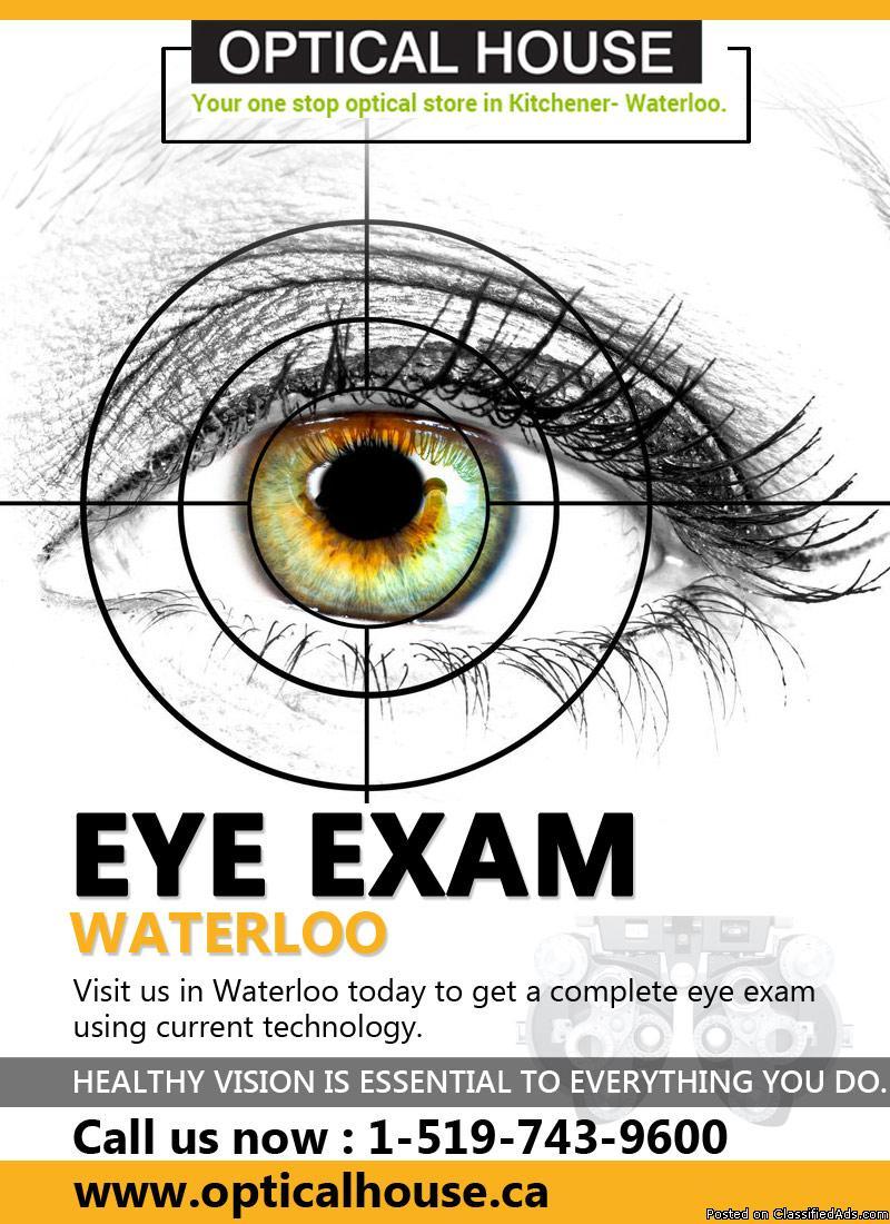 Eye Exam Waterloo | Eye Care
