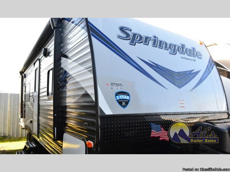 New  Keystone RV Springdale 245RBWE