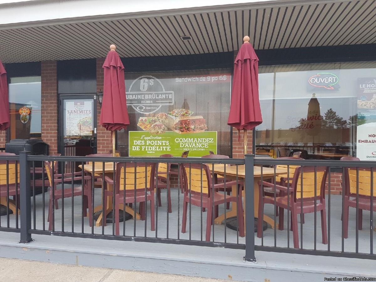 Quiznos restaurant for sale St-Jean-sur-Richelieu