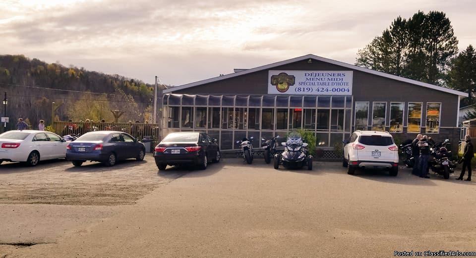 Restaurant très achalandé sur la Rte 125 Lanaudière