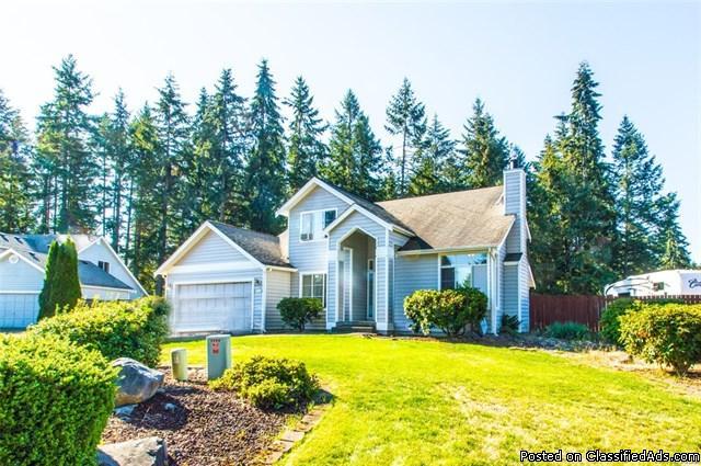 Wow! Huge Fenced Backyard! Spacious Home On 1/2 Acre Lot