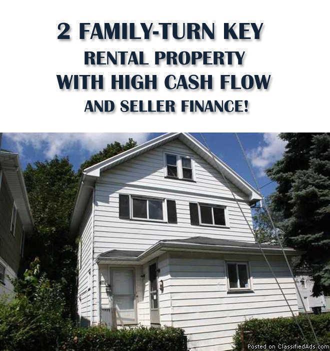 2 Family High cash Flow Rental Property